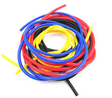 FIFAN Universal 1M 3mm/4mm/6mm/8mm Silicone Vacuum Tube Hose Silicon Tubing Blue Black Red Yellow Car Accessories For Honda BMW