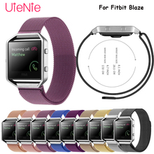 цены Milanese replacement bracelet For Fitbit Blaze smart watch frontier/Classic band For Fitbit Blaze watch wrist strap accessories
