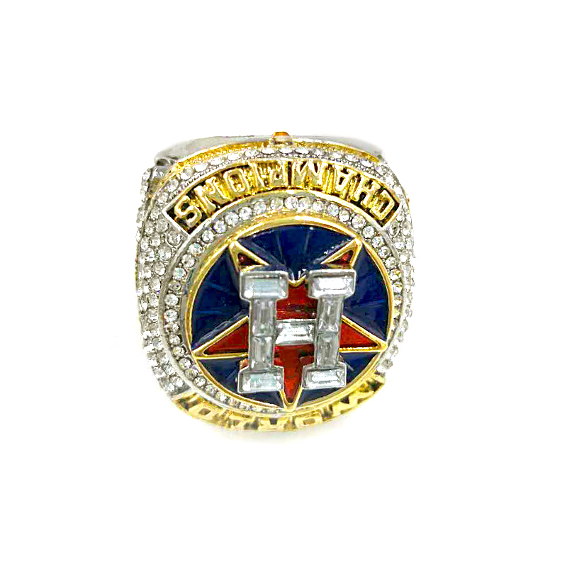 Classic New Zinc Alloy 2017 Houston Astros Championship Ring For Man And Fans Spring/Altuve/Correa Size 8-14