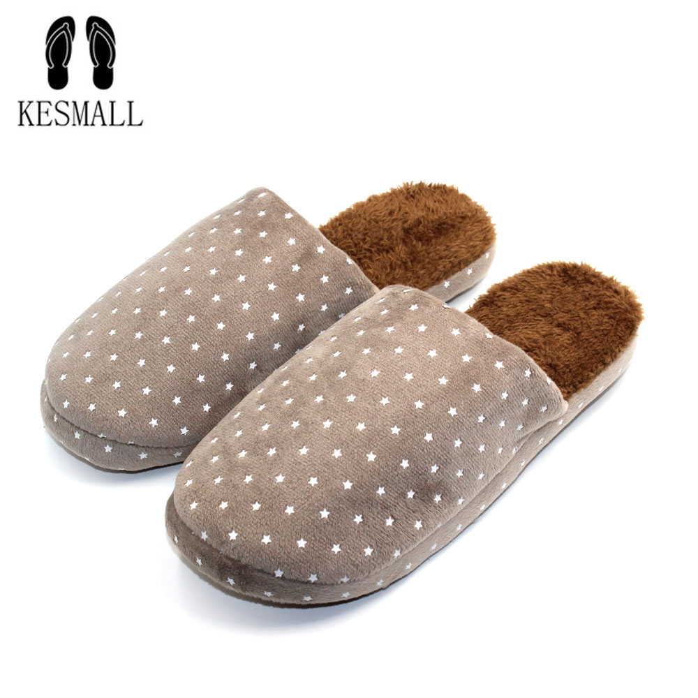 Indoor Slippers Winter Solid Adult Furry Warm House Home Shoes With Fur Men Faux Plush Slippers Designer Autumn Chinelos S319
