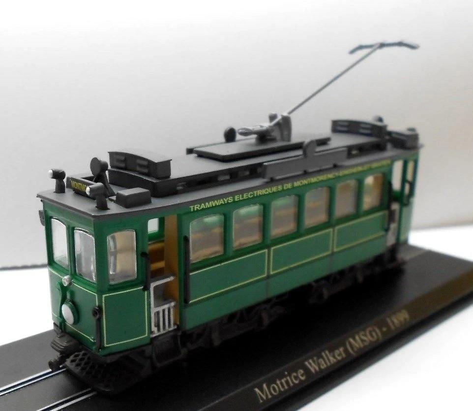 Editions Atlas Tram  Scale 1//87 Motrice Walker MSG 1899 n.2519006