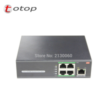 POE Switch 4Port POE+1 Uplink, AP RJ45 Uplink POE Switch Network of compatible network cameras and wireless AP power IEEE 802.3a