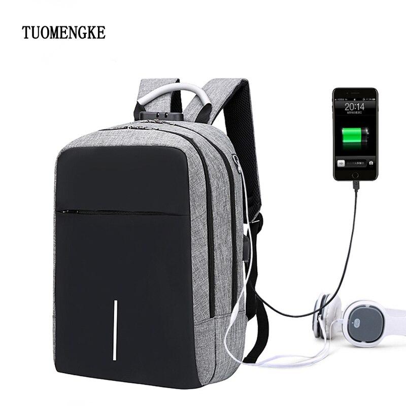 Women Multifunction USB Charging Men Laptop Backpack For Teenager Fashion Male Mochila Female Leisure Travel Anti Thief Backpack цена 2017
