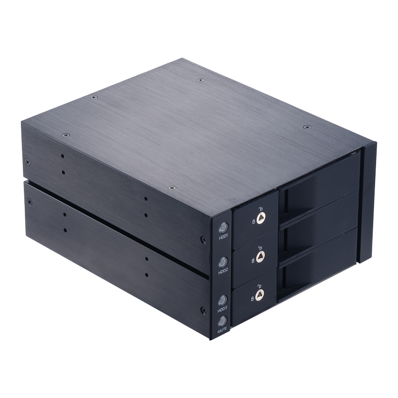 Uneatop ST3530 3.5in sata drive case rack enclosure optibay hard drive 5.25 docking station adapter mobile rack hdd enclosure mobile rack agestar sr3p sw 3f sata black