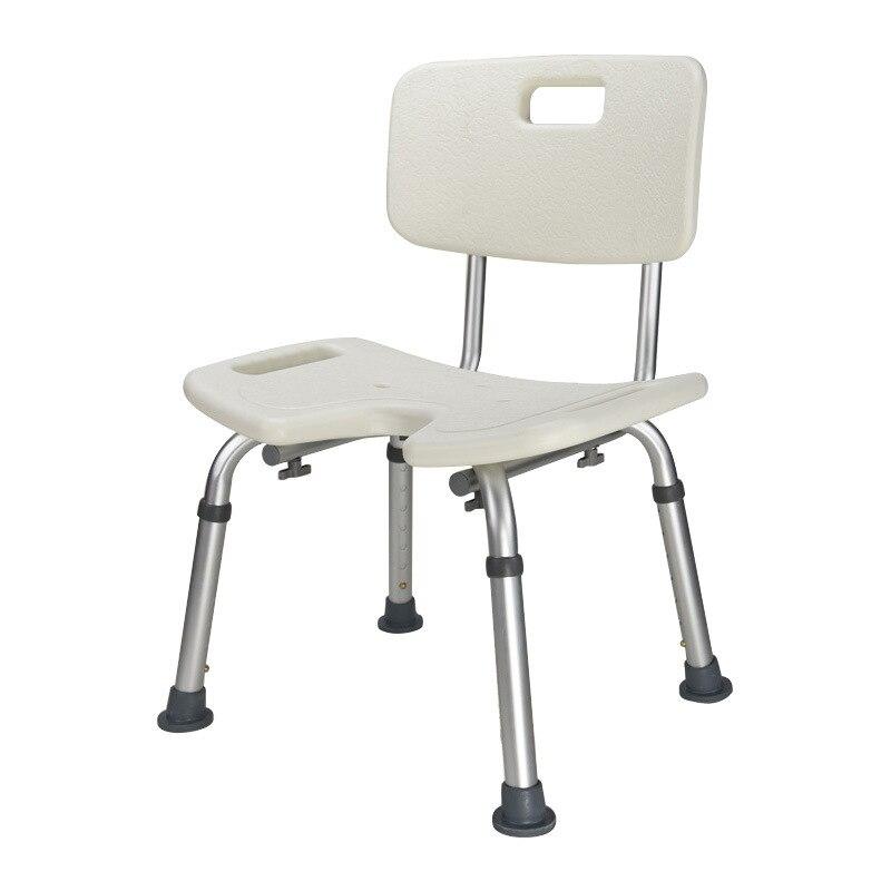 Bathroom Chair Commode Stool Adjustable Safety Aluminum Elderly Pregnant Women Kids Medical Shower Seat Folding Toilet