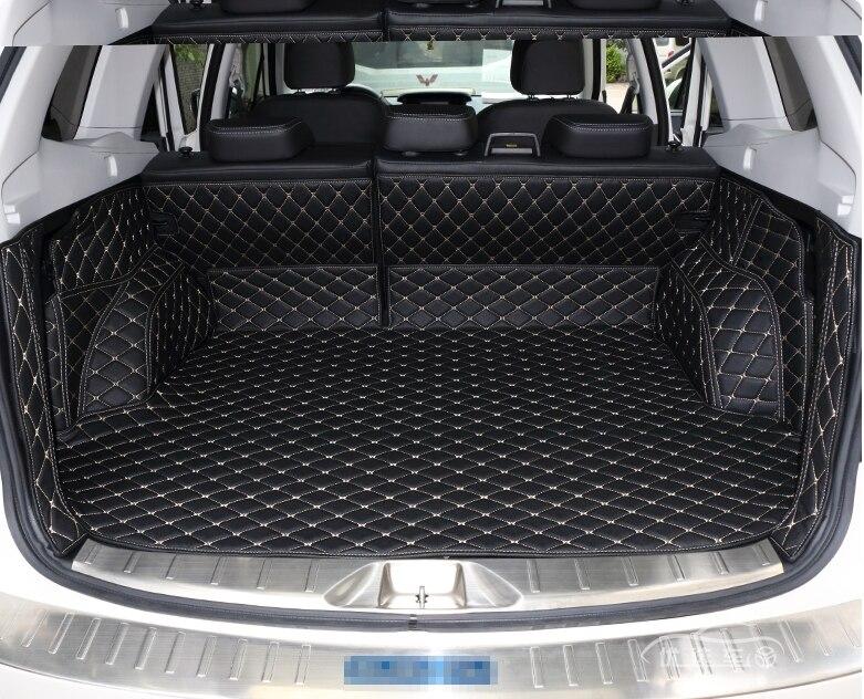 Высокое качество! Специальные материалы ствола для Subaru Forester 2018-2013 Прочный грузового лайнера загрузки ковры для Forester 2017, Бесплатная доставка