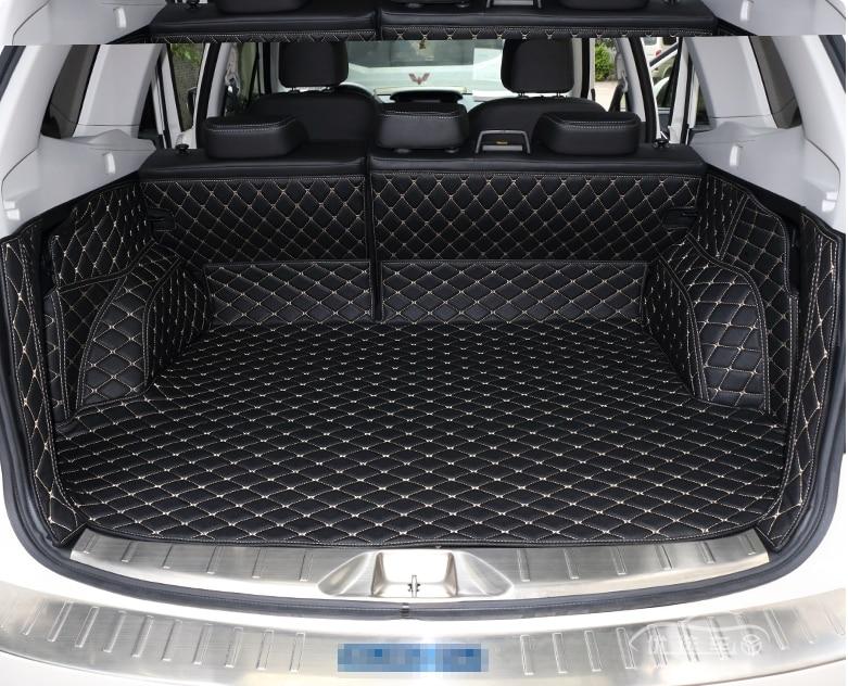 De alta qualidade! esteiras tronco especial para Subaru Forester 2018-2013 durável forro de carga boot tapetes para Forester 2017, Frete grátis