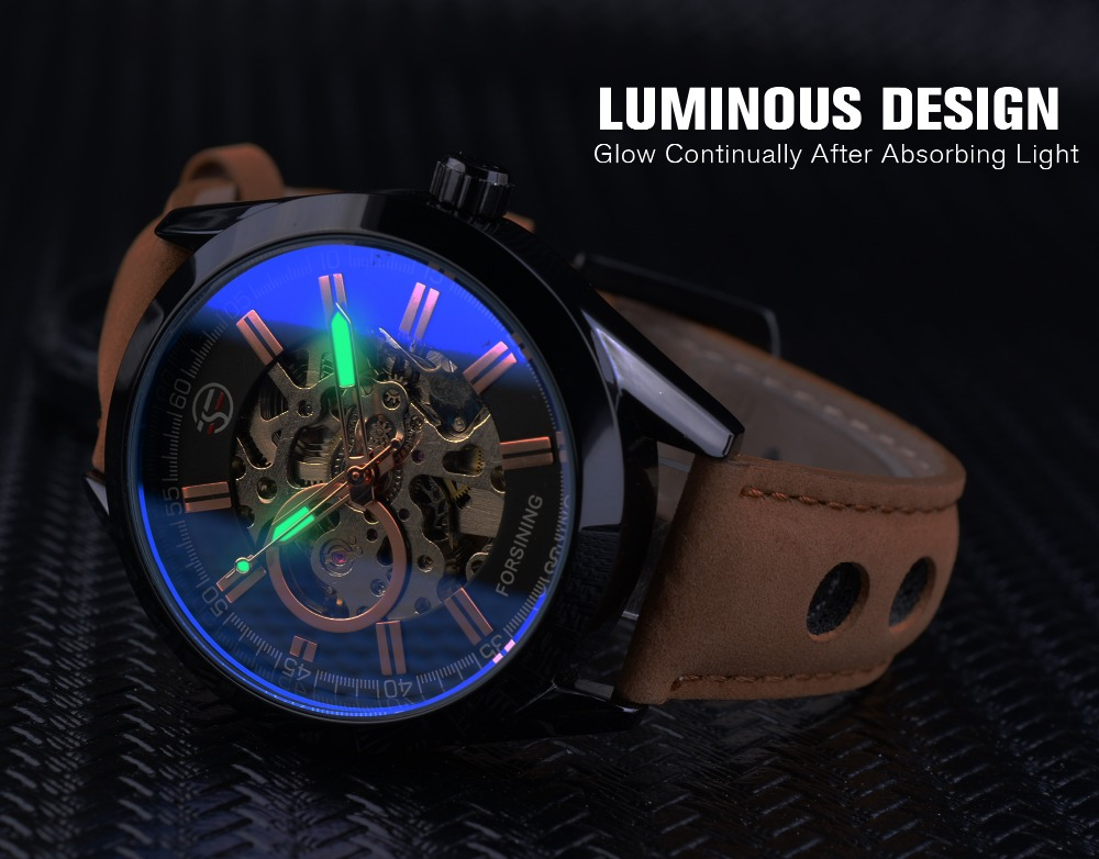 HTB1lidCl0bJ8KJjy1zjq6yqapXaO Forsining 2017 Mens Casual Sport Watch Genuine Leather Top Brand Luxury Army Military Automatic Men's Wrist Watch Skeleton Clock