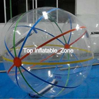 цена на Free Shipping TPU zorb ball Waterballs 2m Design,Super Quality Bubble Ride,Inflatable Water Walking Balls