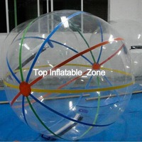 Toy ball stress ball Inflatable Water Walking Ball 1.0mm pit TPU bubble Water Zorb Ball 2M Diameter Free Shipping