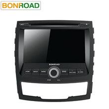 Bonroad 2 Din Автомобильный мультимедийный плеер для SsangYong KORANDO 2011-2013 видео gps Wifi Радио DVD android 9,0 OS