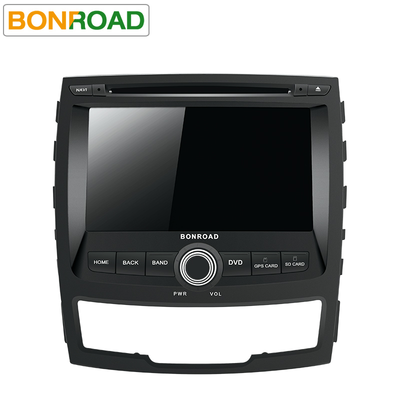 Bonroad 2 Din Car Multimedia Player For SsangYong KORANDO 2011-2013 Video GPS Wifi Radio DVD android 9.0 OS image