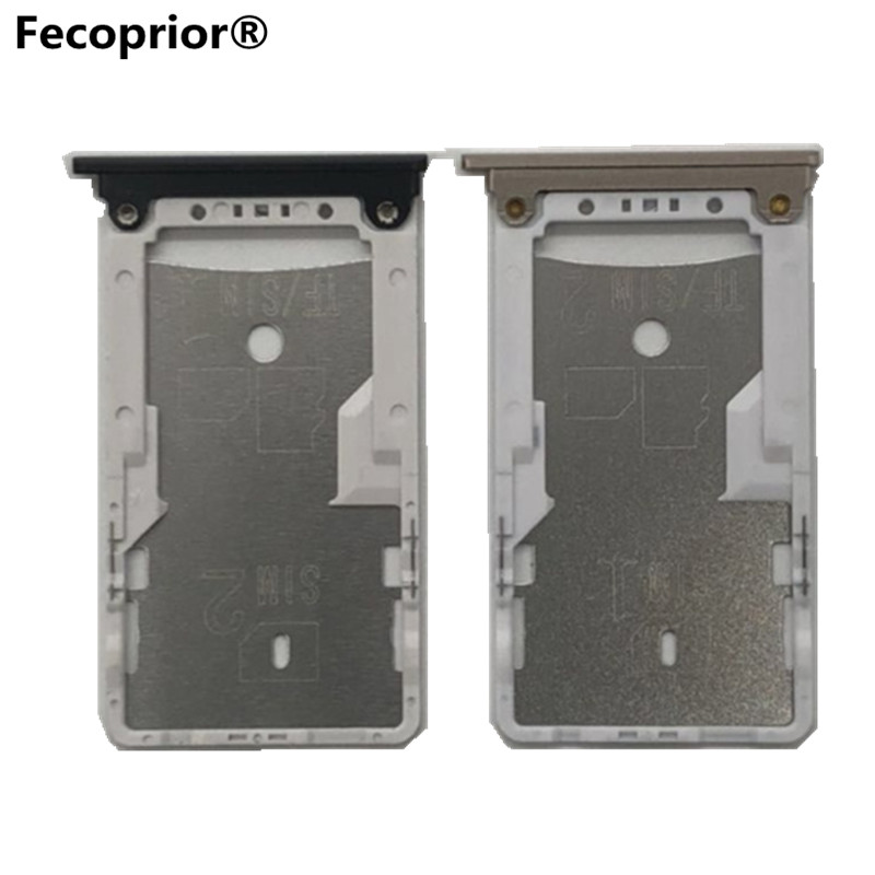 Sim Cards Adapters <font><b>Max2</b></font> For Xiaomi <font><b>Mi</b></font> Max 2 <font><b>Xaomi</b></font> SIM Card Tray Socket Slot Holder Adapters Phone Replacement Housing Parts image