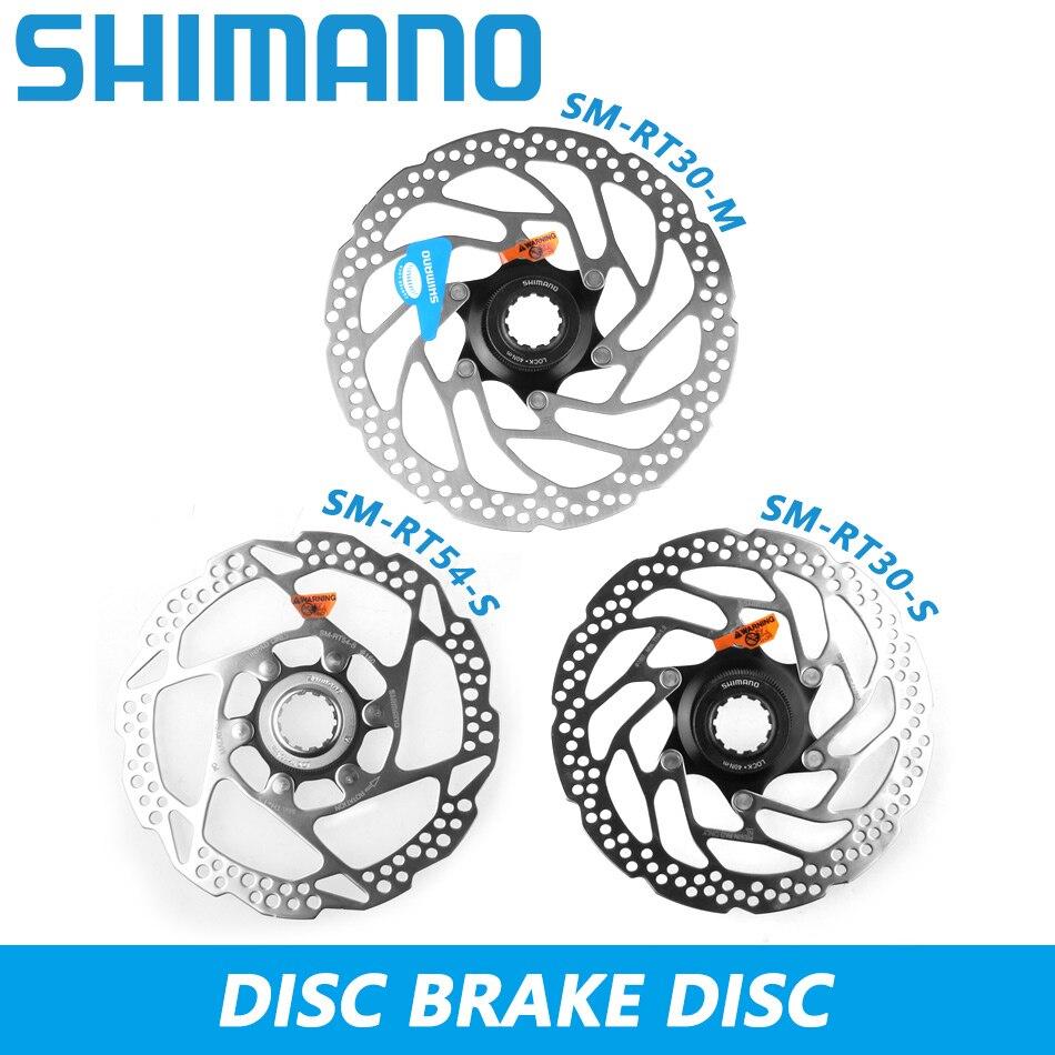 180mm Shimano SM-RT30 Fahrrad-Bremsscheibe Center Lock 160mm o