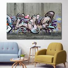 3PCS decorative Oil painting graffiti war art canvas poster and printed for living room decoration