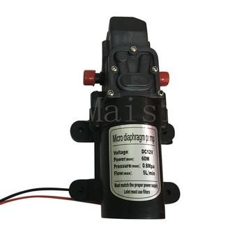 Maisi Electric Diaphragm Water Pump DC12V 60W Automatic Switch 5L/min High Pressure Car Washing Spray Water Pump 5L/min 5l min dc12v 60w high pressure mini water diaphragm pump