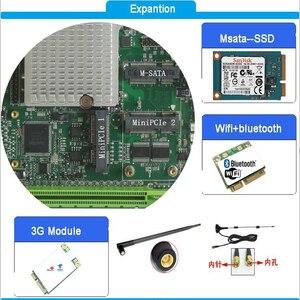 Image 4 - Gömülü ana kart Intel core i5 3210M işlemci fansız Mini ITX endüstriyel anakart