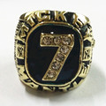 US Size 10 to 12! Factory price 1956 Mickey Mantle championship ring replica drop shipping