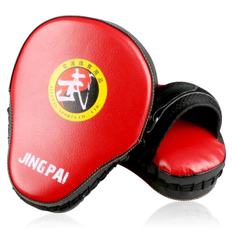 Punching Pad Boxing Hand Target MMA Karate Kicking Pad Training Focus Mitt Black