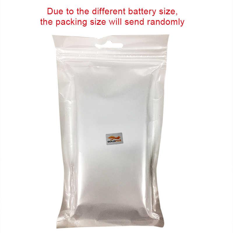 Alta calidad 1 Uds 3,7 V 380mAh KSW-S6 RYX-NX9 SmartWatch recargable de Li-Ion batería de polímero para DZ09 A1 inteligente pilas para reloj
