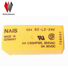 wholesale  10pcs/lot   relay   S2-L2-24V