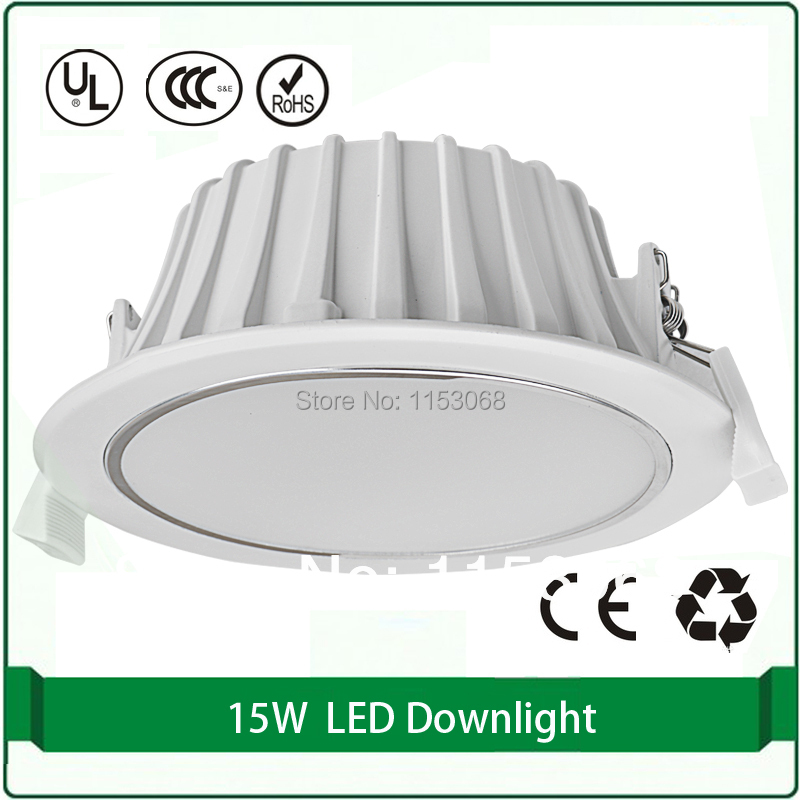 New 10W 15W 20W power LED Recessed Ceiling Panel Down Light Bulb Warm Cool White