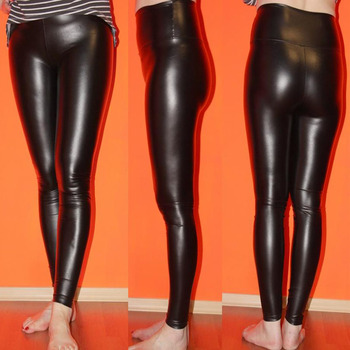 women leggings faux leather high quality slim leggings plus size High elasticity sexy pants leggins s-xl leather boots leggings  Лосины