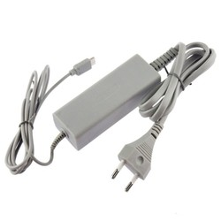 OSTENT EU Type Home Wall Charger AC Adapter Power Supply for Nintendo Wii U Gamepad