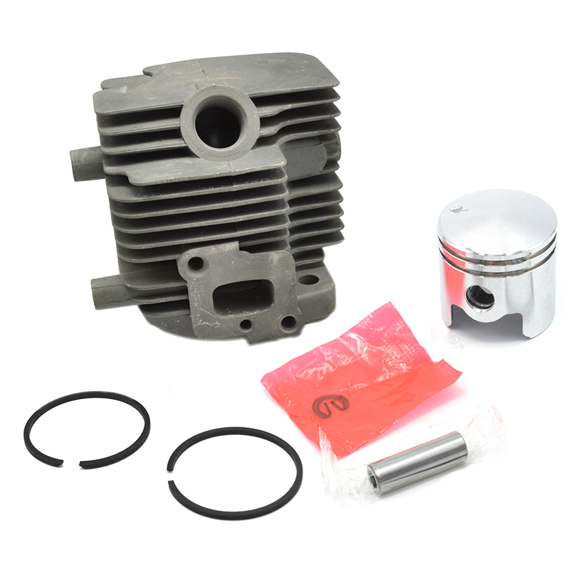 Cylinder Piston Kit For ZENOAH G26L BC2610 Husqvarna 226R 226RJ Brush Cutter Grass Trimmer Replacment Spare Parts 505 04 07-01 40 5 brush cutter parts spare blade 2 sided for grass trimmer