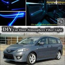 Интерьерный светильник окружающей среды, настроенный атмосферный волоконно-оптический светильник s для Mazda 5 Mazda5 Premacy внутренняя дверная панель освещения, ремонт