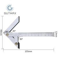 Center Gauge 100x70mm Center Marking Gauge Finding Marking Gauge Measurement Caliper Angle Tool HY115