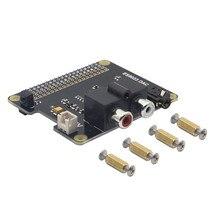 LEORY X900 HIFI DAC ES9023 DAC Expansion Board HD Audio Expansion Board DAC For Raspberry Pi 3 Model B / 2B / A+ / Zero W
