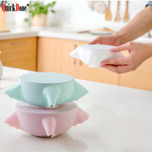 QuickDone Universal Silicone Pot Reusable Pan lid Cover