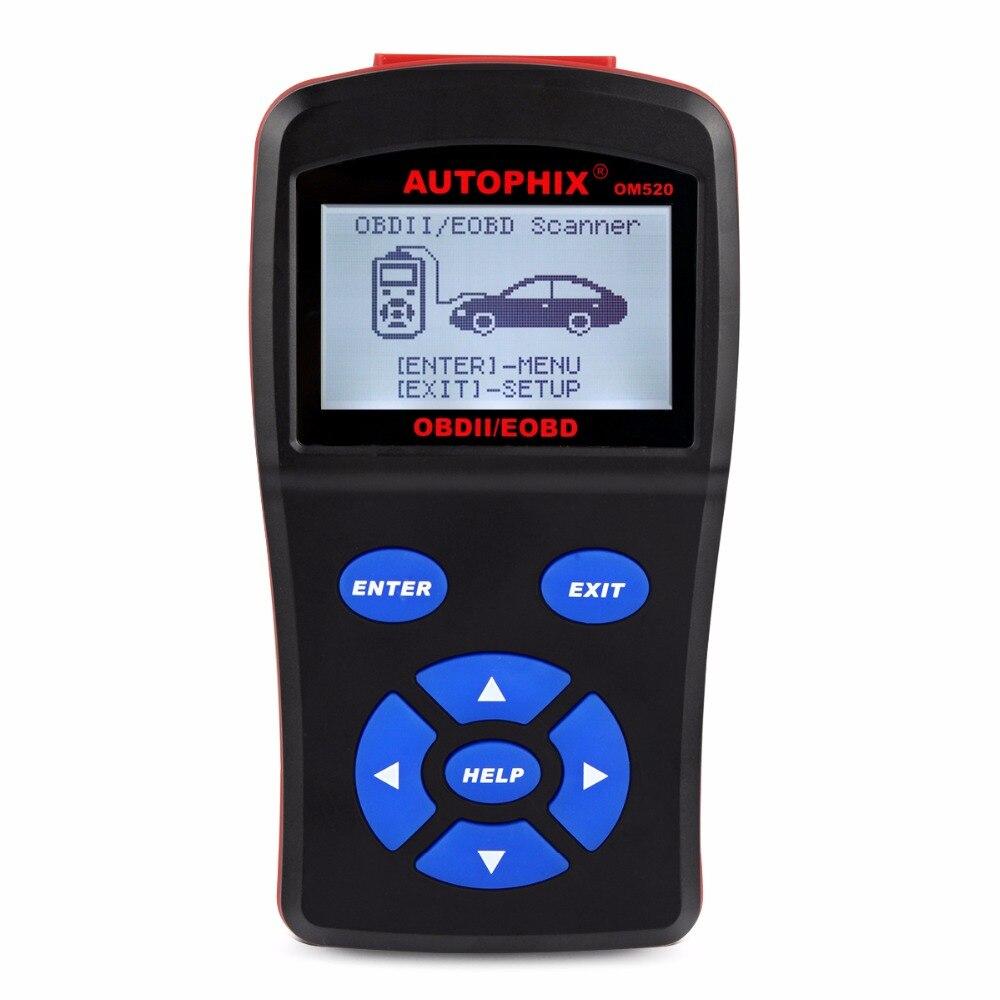 Цена за 2017 Best автомобильный диагностический сканер OBDMATE OM520 OBD1 EOBD JOBD может сканировать инструмент для Универсальный автомобили код ошибки бесплатного обновления
