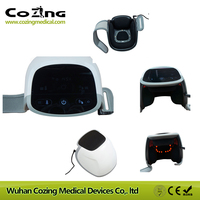 Для домашнего использования Портативный Электрический артрит боли лазерные устройства Медицинская аппаратура сенсорный экран массажное