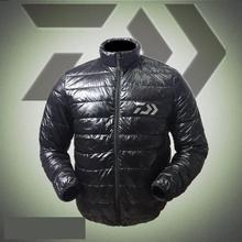 2018 Fishing Down Jacket Coat Clothes White Duck Down Keep Warm Breathable Autumn And Winter Clothing Camping Hiking Jacket WC04