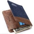 Vintage Canvas wallets men quality assurance man purse carteira masculina best gift for boyfriend husband retro purses