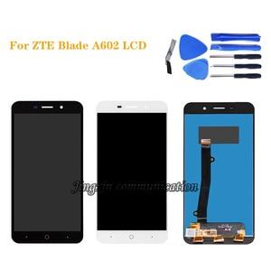 """Image 1 - 5,5 """"für ZTE klinge A602 LCD display + touch screen digitizer montage für ZTE A602 bildschirm reparatur komponente"""