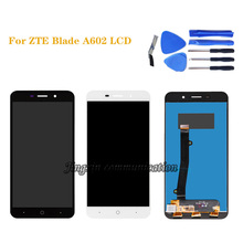 "5.5 ""per ZTE lama A602 display LCD + touch screen digitizer assembly per ZTE A602 dello schermo di riparazione di componenti"