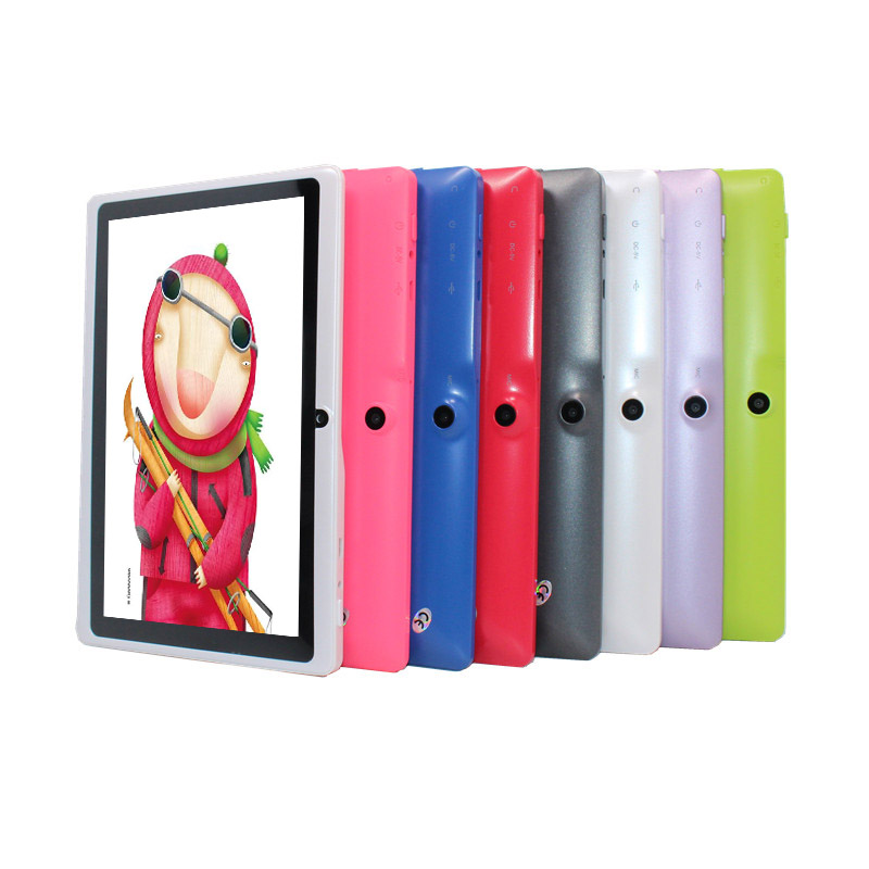 A33-8G  7 inch tablet pc A33 Q88 512RAM 8GB ROM Android 4.4 OTG WIFI dual cameras Quad core 1024x600 Bluetooth G SensorA33-8G  7 inch tablet pc A33 Q88 512RAM 8GB ROM Android 4.4 OTG WIFI dual cameras Quad core 1024x600 Bluetooth G Sensor