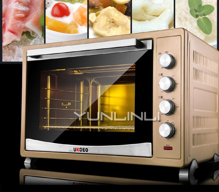 120L Pizza Oven Cake Bread Toaster Commercial Household Baking Machine Electric Oven HBD-1201 цена