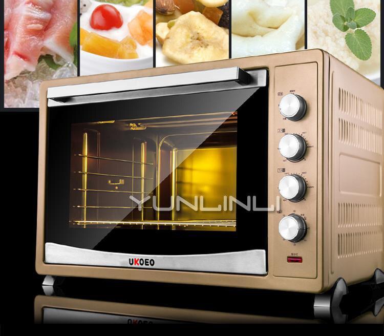 120L four à Pizza gâteau pain grille-pain Commercial ménage cuisson Machine électrique four HBD-1201