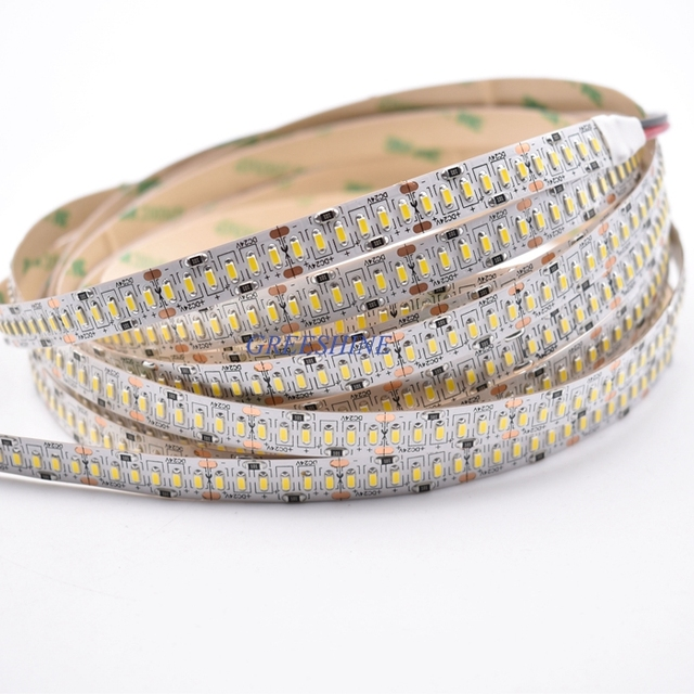 24w 3014 Smd Led Strip Light 10mm Pcb 24v Tape 240leds White Warm Nature Non Waterproof 5m Lot Freeshipping