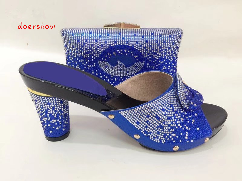 doershowItalian Shoes with Matching bags For party african Shoe And Bags to match set high quality matching shoe and bag TYS1-12 high quality nigeria wedding shoes italian shoes and bags set to match african shoe and matching bag set with stones mm1024