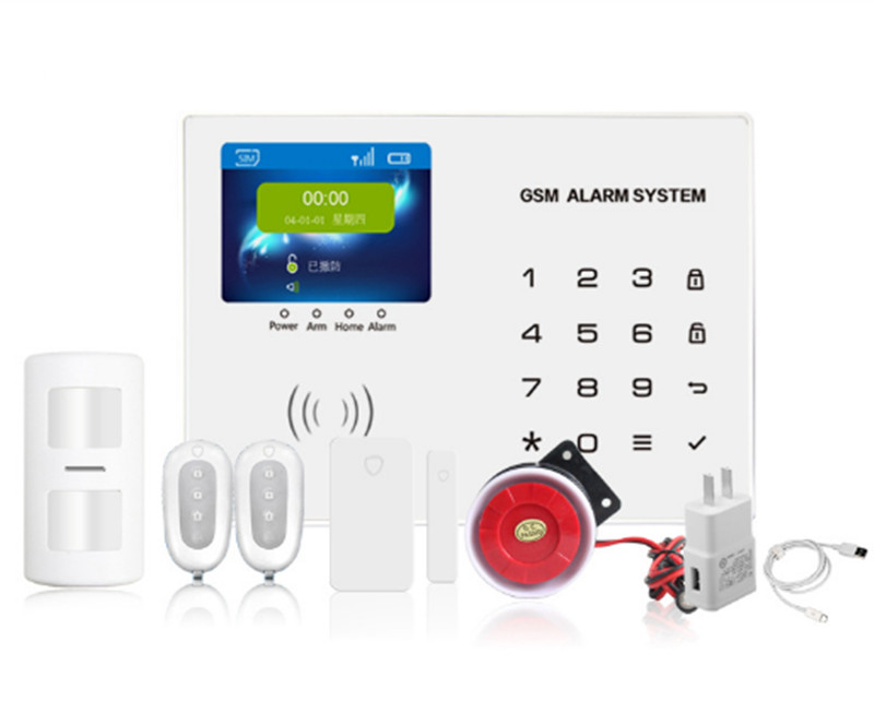 2.8 Inch TFT Monitor Touch Keypad GSM Alarm System APP Remote Control paradox alarm control system keypad pa 636
