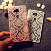 Painted Henna Floral Retro Phone Cases For Huawei Honor 5X Honor Play 5X Mate 7 Mini GR5 Covers Anti- Scratch Hard Plastic Shell