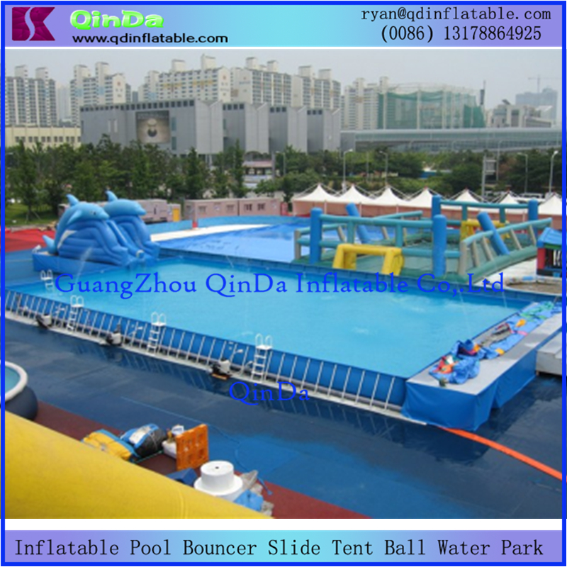 inflatable inground pool slide. Cheap Playground Inflatable Above Ground Pool Metal Frame Amusement Park Inground Pool-in \u0026 Accessories From Sports Entertainment On Slide