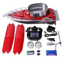 RC Boat 5200MAH Mini Fast Electric RC Fishing Bait Boat Wireless 300M Remote Fish Finder Anti