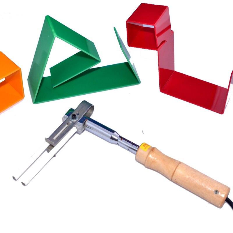 HQ NEW Acrylic Luminous Letter Bender, Angle Bender, Arc Shape Bending Tool,Acrylic luminous letter bending machine Tool letter b shape rhinestone inlay hairclip