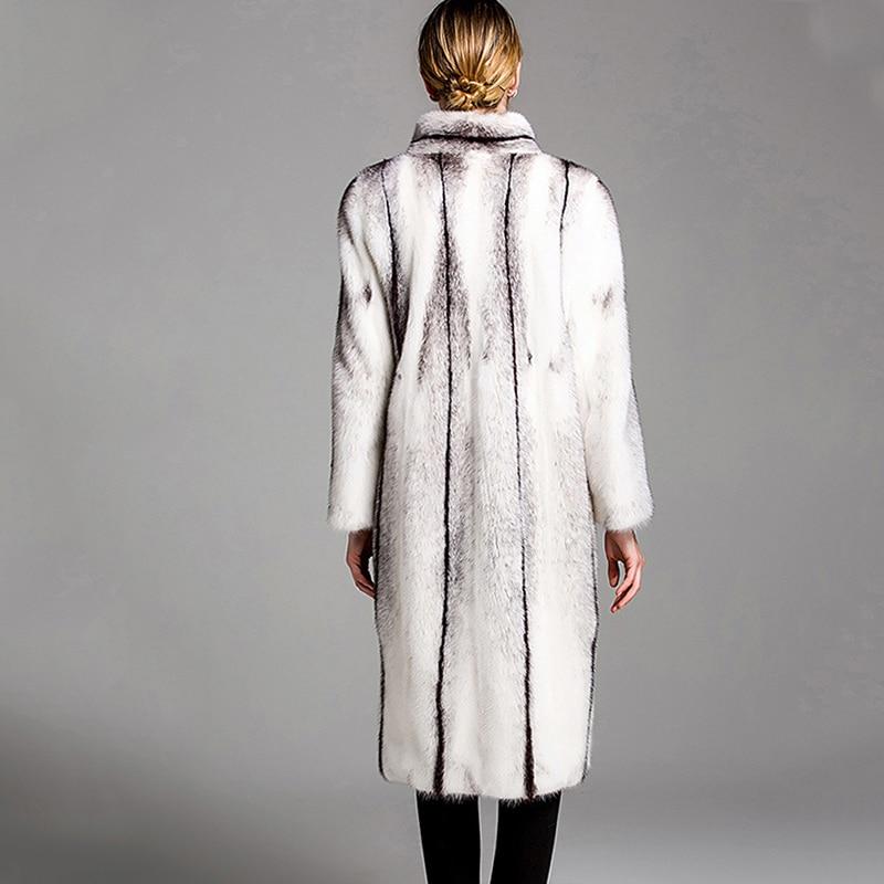 LVCHI mantel bulu nyata untuk wanita mantel bulu alami nyata Rusia - Pakaian Wanita - Foto 4